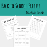 Back to School Freebie - All about me, Community building,