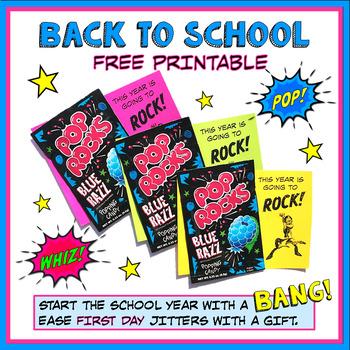 Back to School Freebie - Welcome Gift