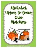 Back to School Freebie #55-  A to Z Pumpkin Pie Match - Pr