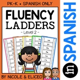 Spanish Reading Fluency Word Ladders 2