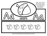 Back to School Freebie #60 -  Fun Crown / Hat - Acorn - Pr
