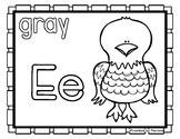 Back to School Freebie #70-  Eagle Color Pages - Preschool
