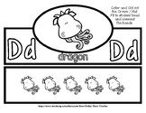 Back to School Freebie #71 -  Fun Crown / Hat - Dragon - P
