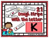 Back to School Freebie #72-  Dough Word Picture Strips K -