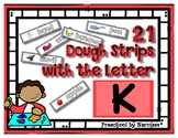Back to School Freebie #72-  Dough Word Picture Strips K -