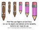 Back to School Freebie #75- Brown / Pink Color Size Sort - Preschool by Narcissa