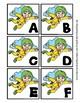 Back to School Freebie #78-  A to Z Sky Diving Match - Preschool by Narcissa