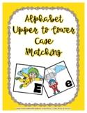 Back to School Freebie #78-  A to Z Sky Diving Match - Pre