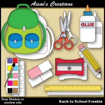 Back to School Sample Clip Art
