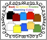 Back to School Freebie: Counting Cubes Clipart for Math