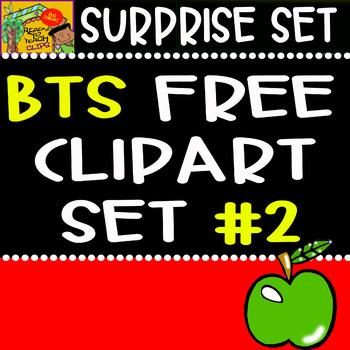 Back to School - Freebie - Surprise Clipart Set #2
