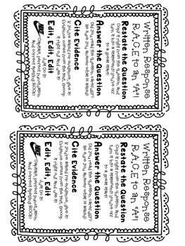 Back to School Freebie. Written Response Posters! 3 Designs!