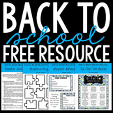 Back-to-School Freebie from The SuperHERO Teacher