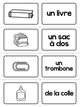 Back to School French