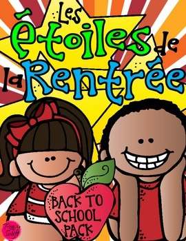 Back to School ~ French ~ Étoiles de la rentrée!