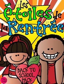 Back to School ~ French ~ Étoiles de la rentrée!