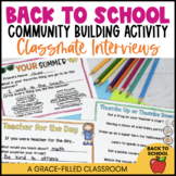 Back to School: Friend Interview Mini-Book {2nd-3rd grade}