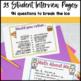 Back to School: Friend Interview Mini-Book {2nd-3rd grade}