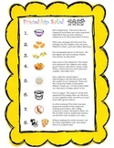 Back to School Friendship Salad (Picture Recipe Card)