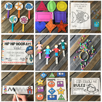Back to School Friendship and Rules  Lessons, Activities and Centers Preschool