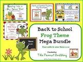 Back to School Frog Theme Mega Bundle (Four Units in One!)