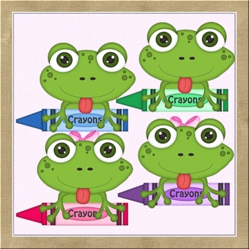 Back to School Frogs 2