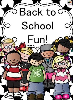 Back to School Fun 2nd grade