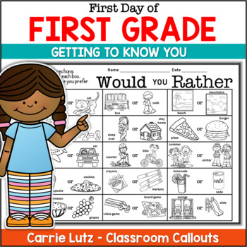 Back to School Fun~ Booklet and Editable I Am, Who Is? Activities