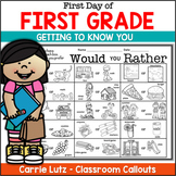 Back to School Fun~ Booklet and I Am, Who Is? Activities