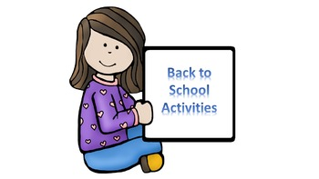 Back to School Fun Activities