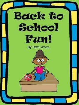 Back to School Fun!