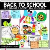 Back to School Activities and Games, Back to School, Ice Breaker Activities