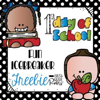 Back to School Fun Icebreaker Freebie