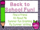 Back to School Activities (K-2)