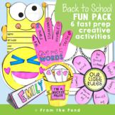 Back to School Activities Fun Pack {Easy Prep}
