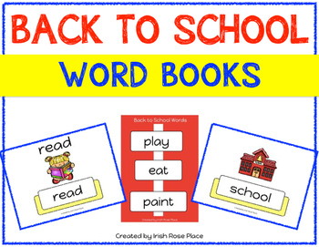 Back to School Language Bundle with Adapted Books