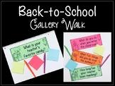 Back-to-School Gallery Walk