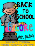 Back to School Galore for FIRSTIES: Photo Booth, Getting t