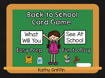 Back to School Game