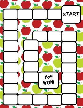 Back to School Game Boards