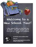 Back to School Activity - A Getting to Know Your Teacher Game
