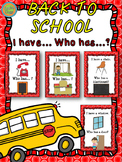 """Back to School - Game """"I have... Who has...?"""""""