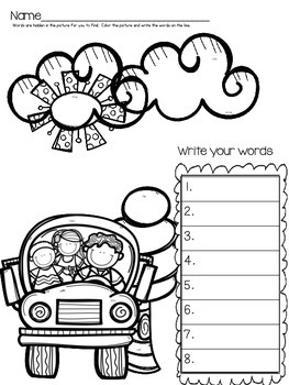 Back to School Consonant Blends Review
