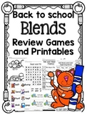 Back to School Games for Blends!