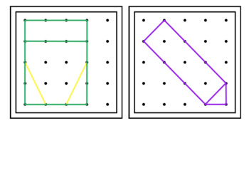 Back to School Geoboard Shapes