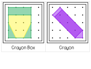 Back to School Geoboard Task Cards