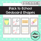 Back to School Geoboard Task Cards