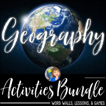 Geography Activities Bundle