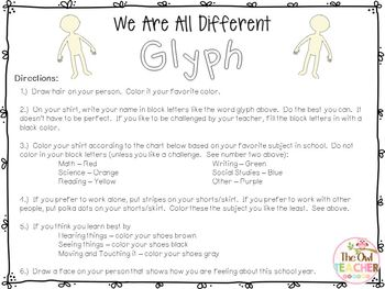 FREE:  We Are All Different Glyph
