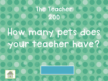 Back-to-School Get-To-Know You Interactive Jeopardy!